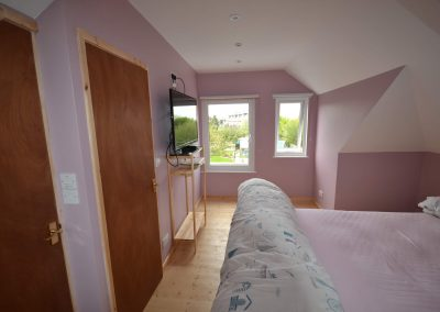 New bedroom and rear dormer window in roofspace conversion